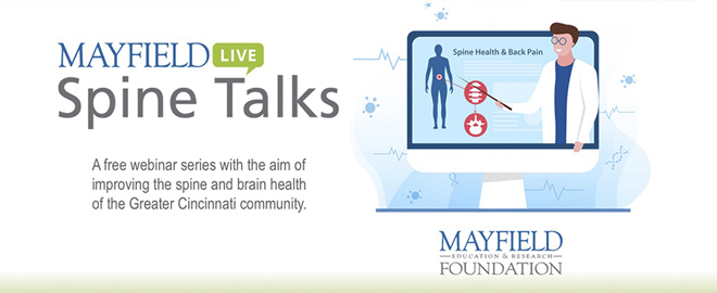 Mayfield Spine Talks webinar series