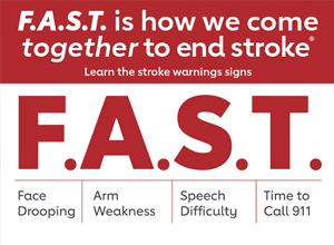 F.A.S.T. stroke signs