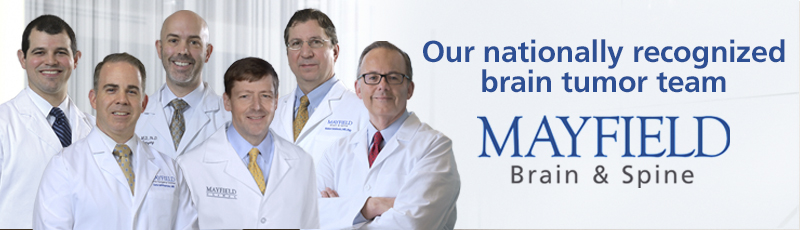 Our nationally recognized brain tumor team.