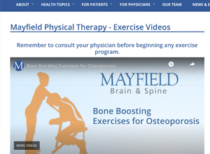 Physical Therapy exercise video