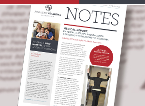 Acoustic Neuroma Association newsletter